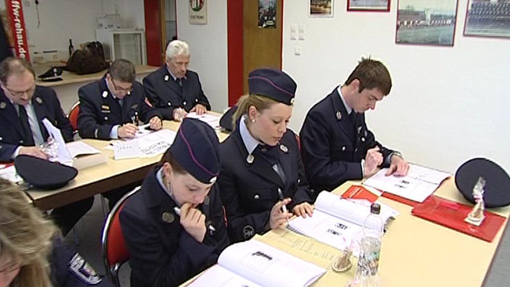 Výuka češtiny pro německé hasiče