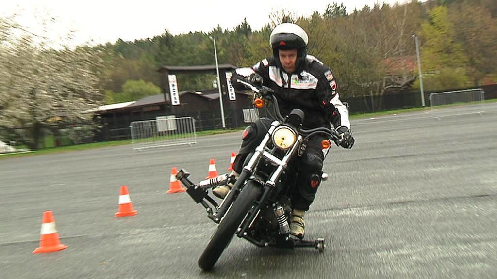 Speciálně upravená motorka