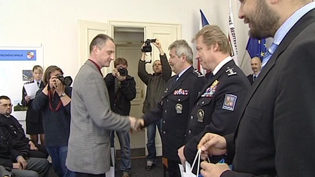 Vyznamenávání policistů