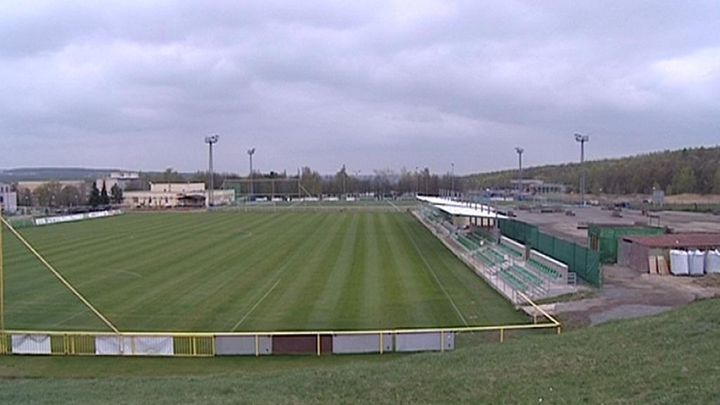 Fotbalový stadion v Mostě