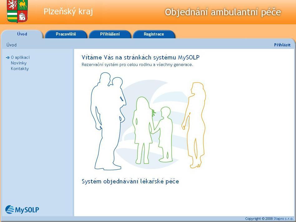 V Plzeňském kraji se lze k některým lékařům objednat přes internet