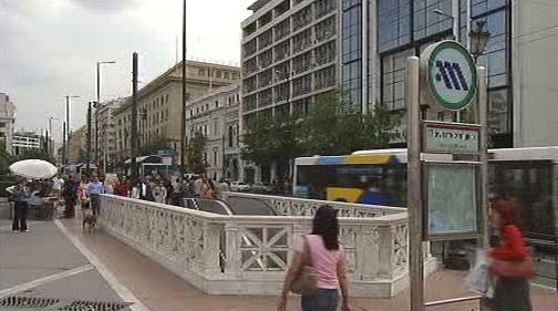 Metro v Aténách