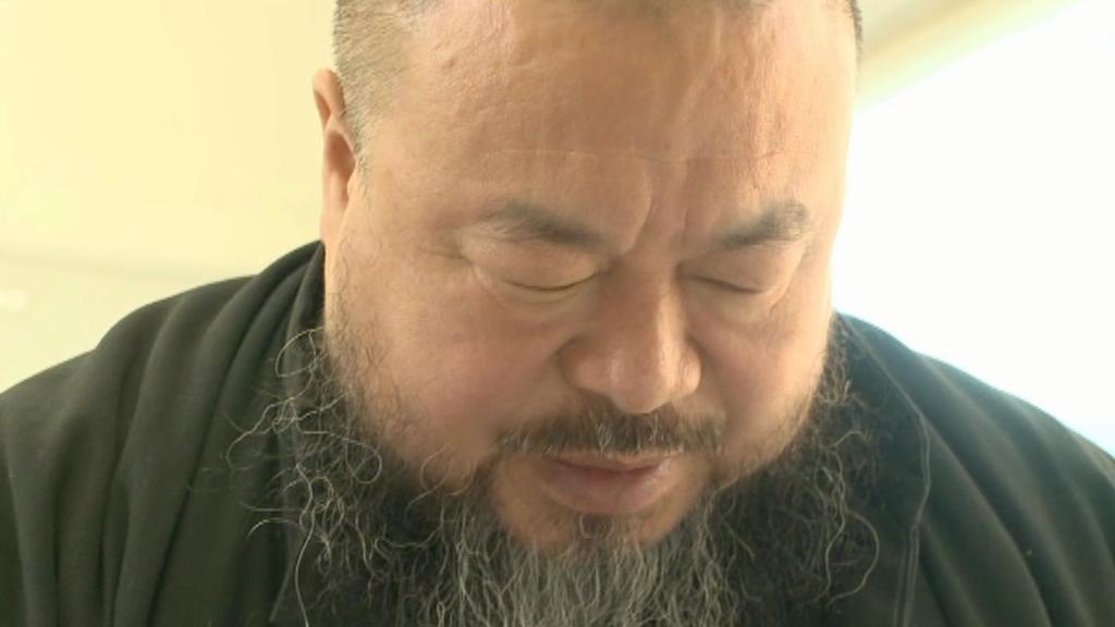Čínský výtvarník Aj Wej wej