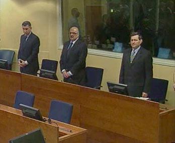 Ante Gotovina, Ivan Čermak, Mladen Markać