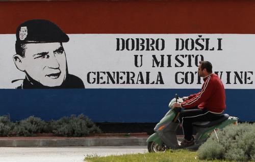 Ante Gotovina je pro velkou část Chorvatů hrdinou