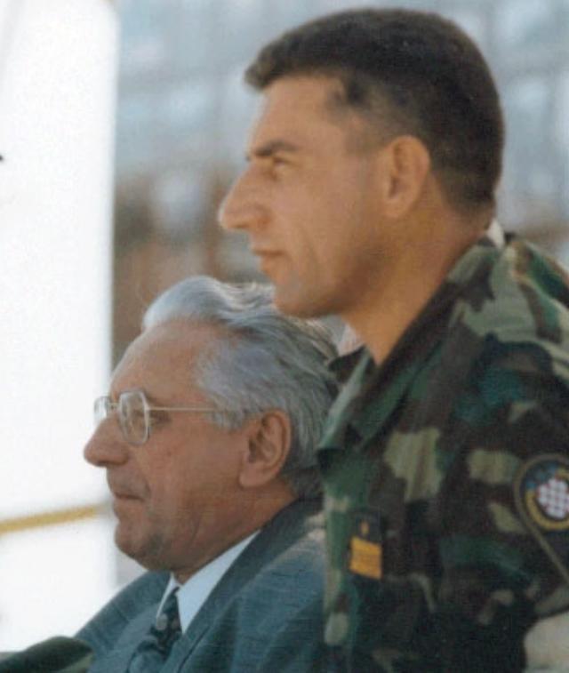 Ante Gotovina a Franjo Tudjman
