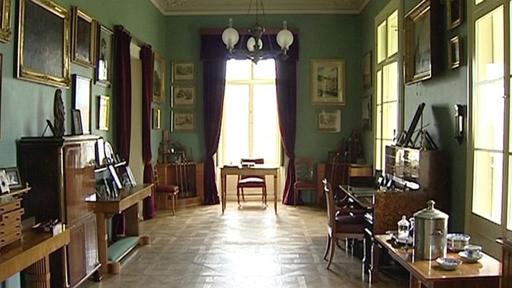 Zrekonstruovaný interiér dačického zámku