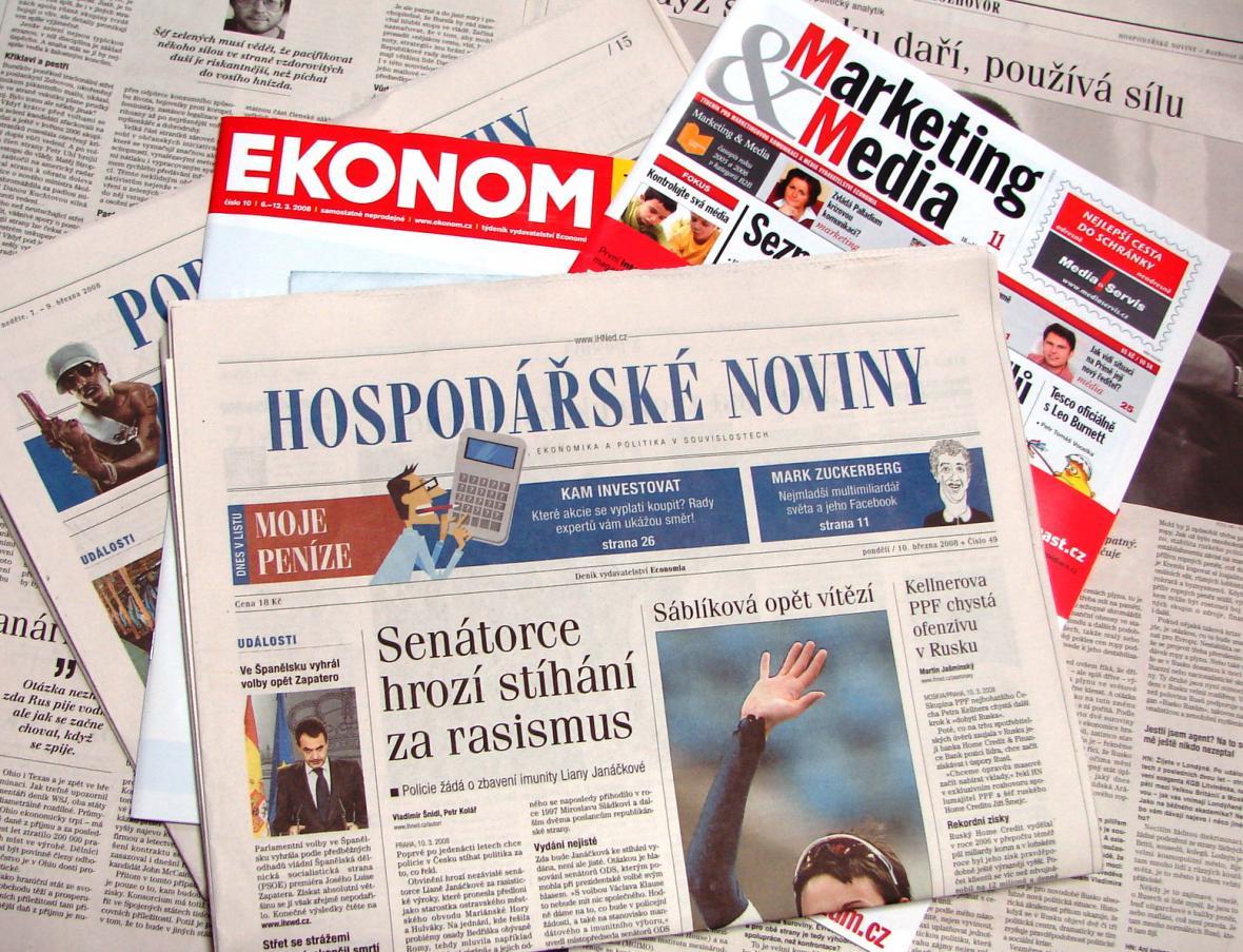 Tituly vydavatelsví Economia