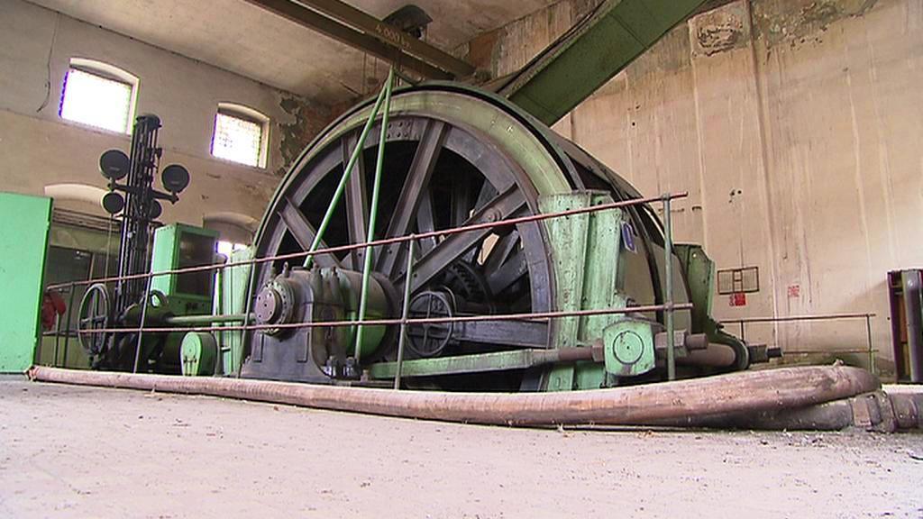Těžní stroj v dole Schöller