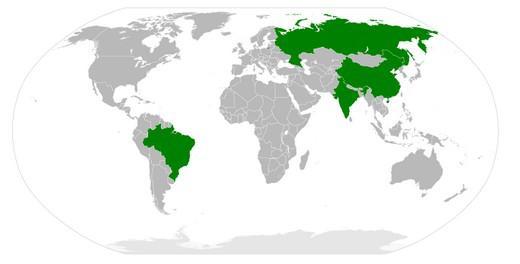 Státy BRIC