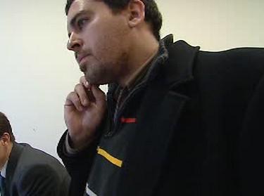 Reportér ČT David Havlík