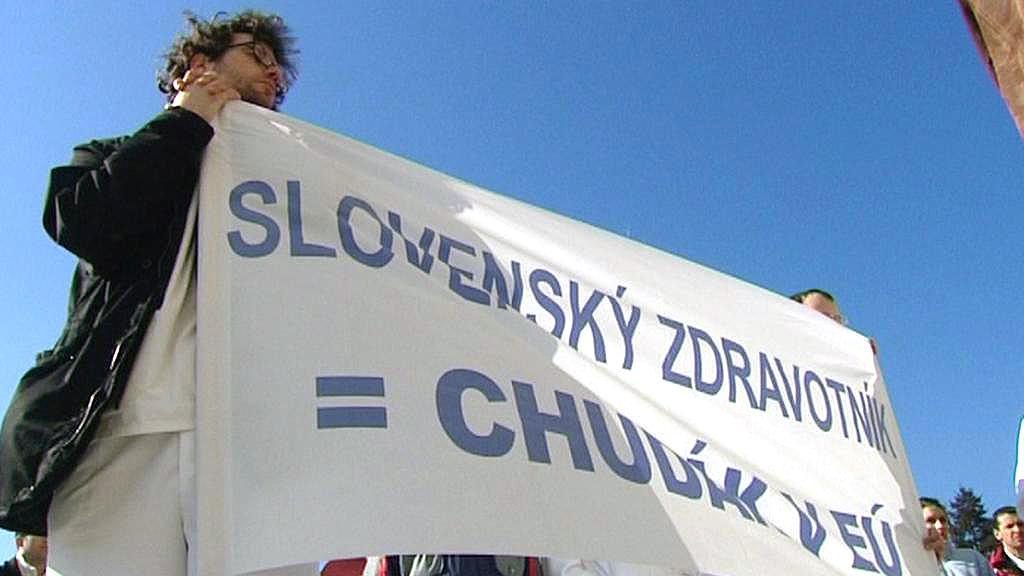 Protest slovenských lékařů