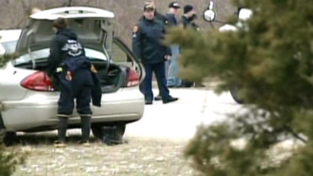 Newyorská policie na místě několikanásobné vraždy