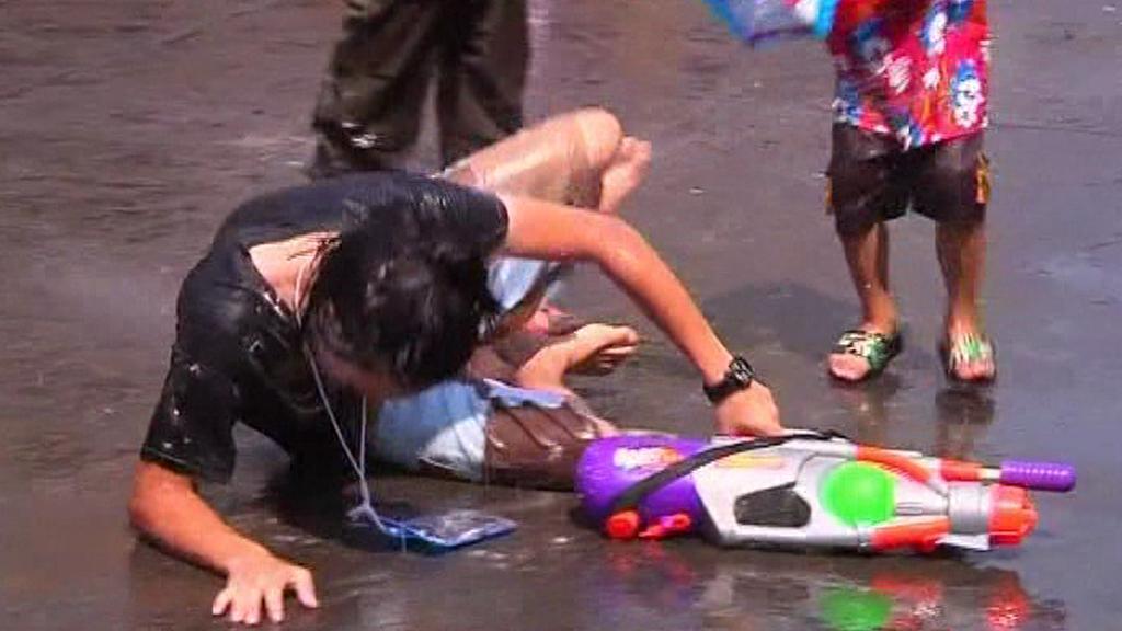 Thajské novoroční oslavy