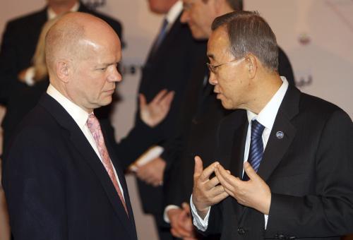 William Hague a Pan Ki-mun