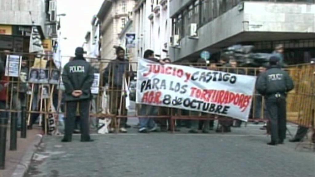 Demonstranti žádají vyšetření zločinů uruguayské junty