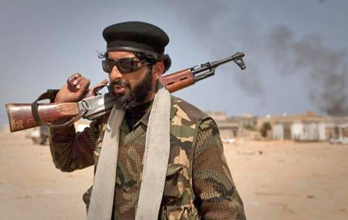 Libyjský rebel