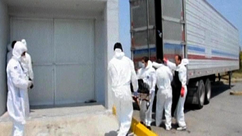 Mexičtí vyšetřovatelé