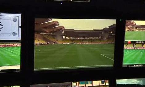 3D fotbalový přenos