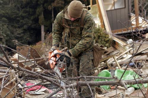 Odstraňování následků zemětřesení