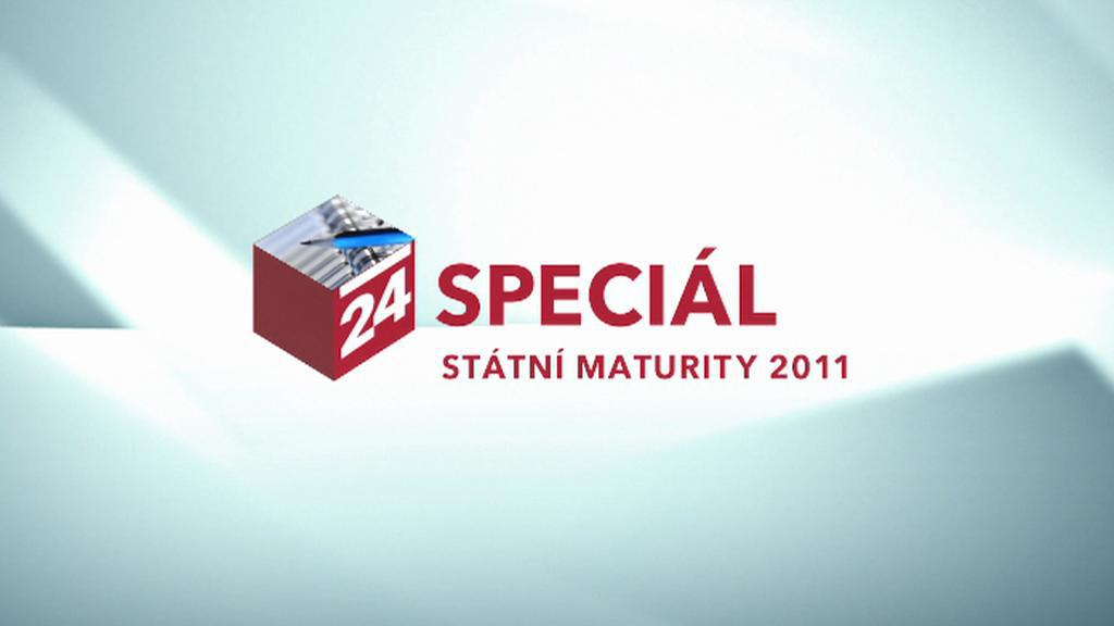 Speciál ČT24: Státní maturity 2011