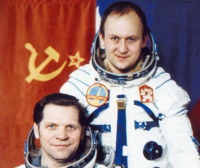 Vladimír Remek a Alexej Gubarev