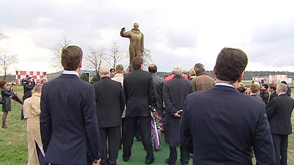Sešlost u sochy Jurije Gagarina