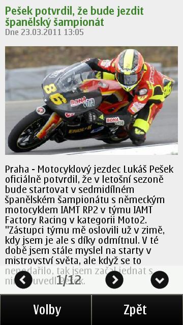 ČT4 v Symbianu 3