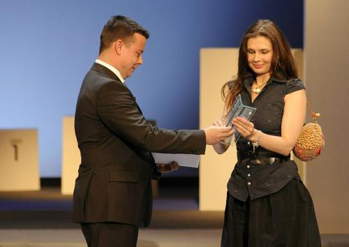 Magnesia Litera za rok 2010 / Marcela Baňková