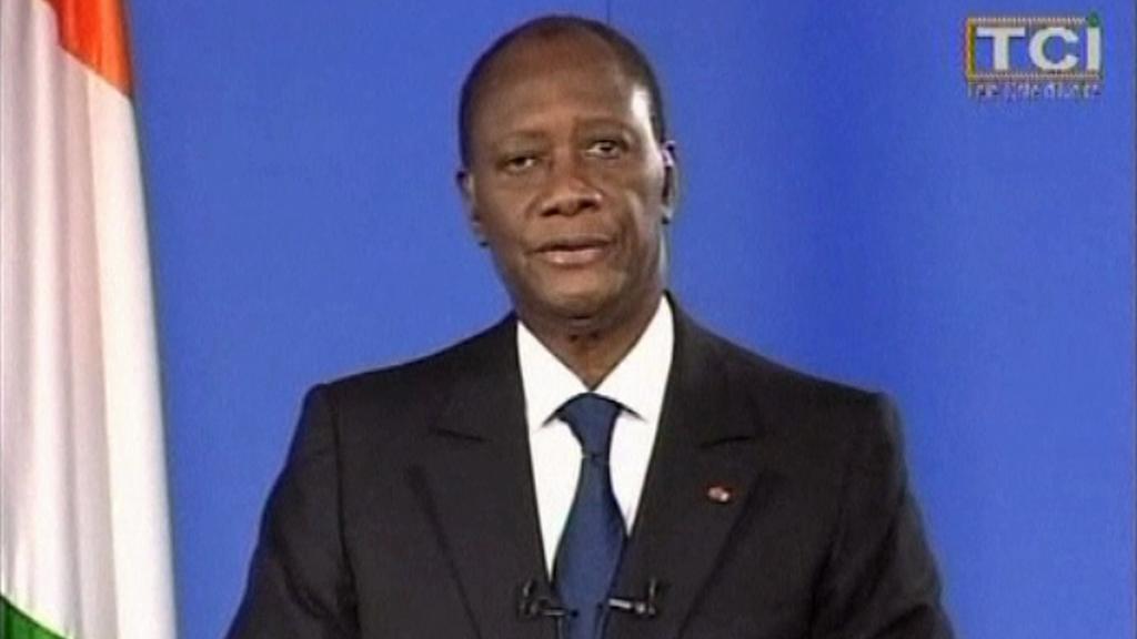Prezident Pobřeží slonoviny Alassan Ouattara