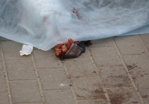 Oběť výbuchu v Minsku