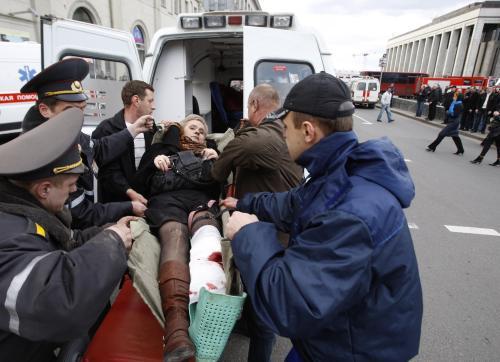 Výbuch v metru v centru Minsku