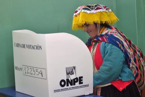 Volby v Peru