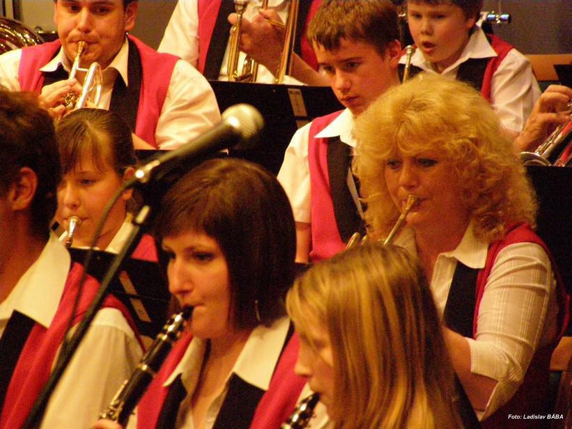 Dechový orchestr ZUŠ Louny