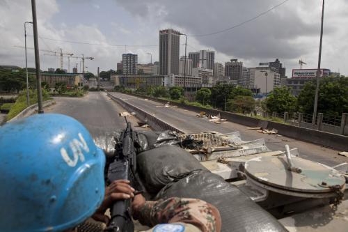 Jednotky OSN v Pobřeží slonoviny