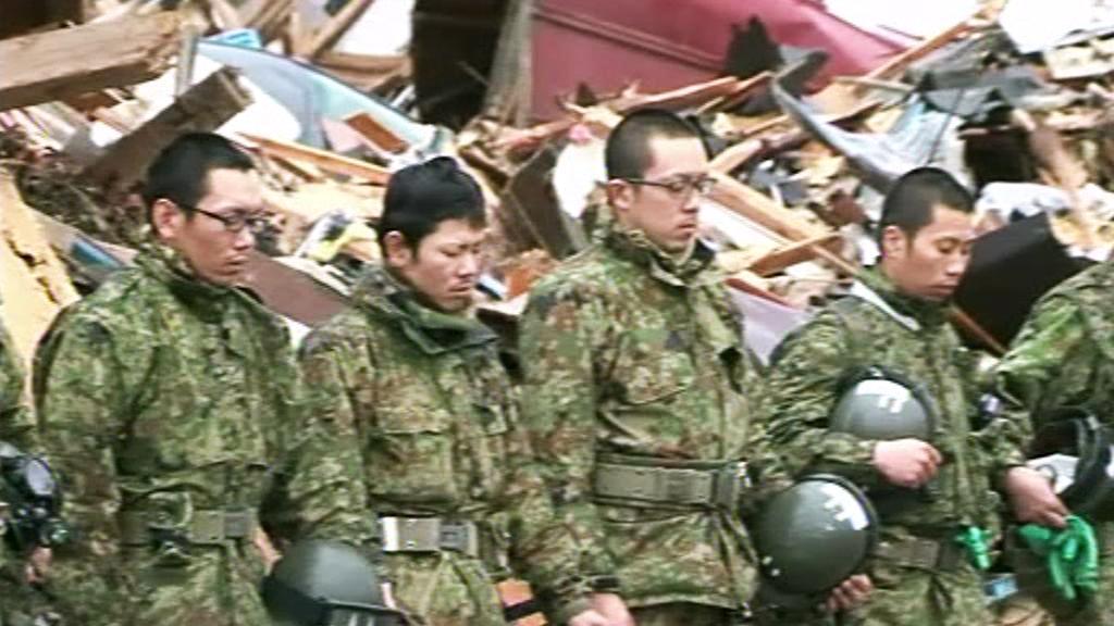 Minuta ticha za oběti japonského zemětřesení
