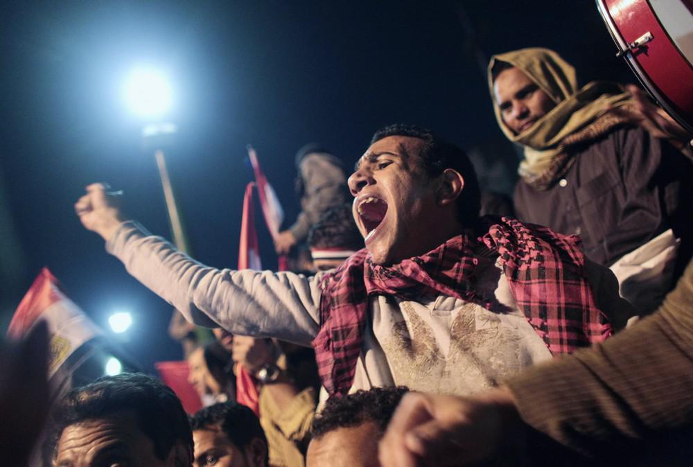 Pryč s Mubarakem