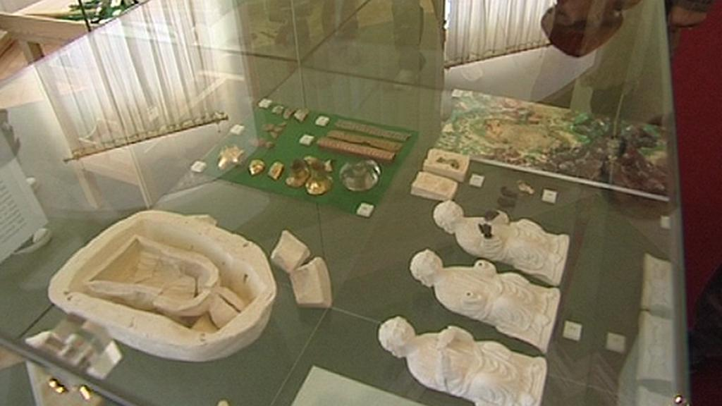 Expozice na zámku Bečov