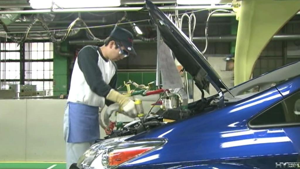 Výroba automobilů v Japonsku
