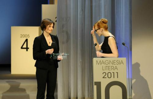 Magnesia Litera za rok 2010 / Radka Denemarková