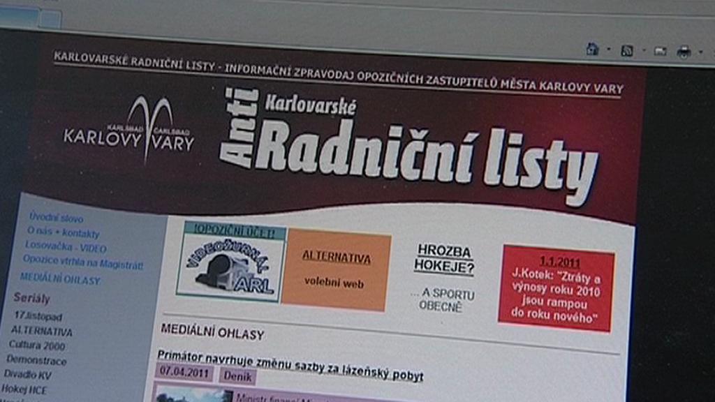Internetová verze Radničních listů