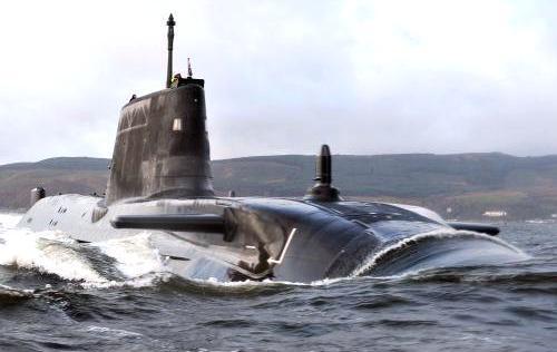 Britská jaderná ponorka Astute