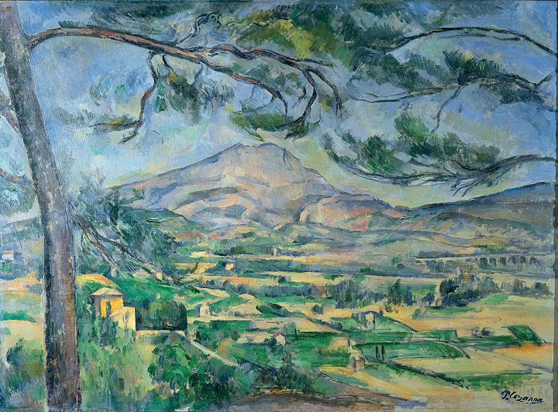 Obraz hory St. Victoire od Paula Cézanna