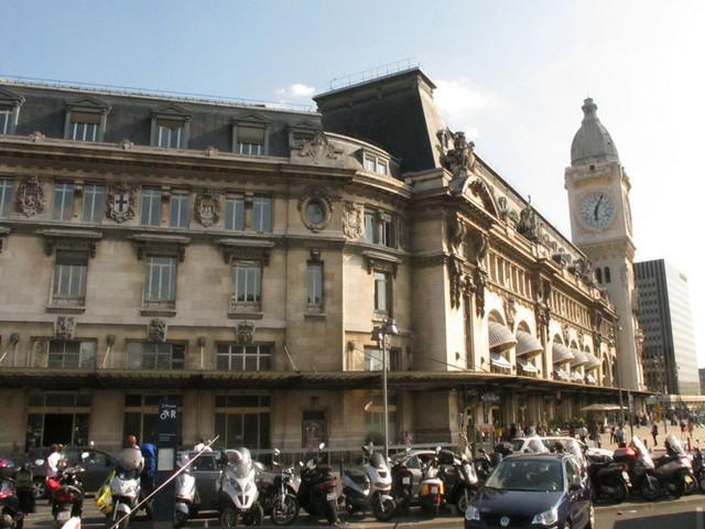 Gare de Lyon v Paříži