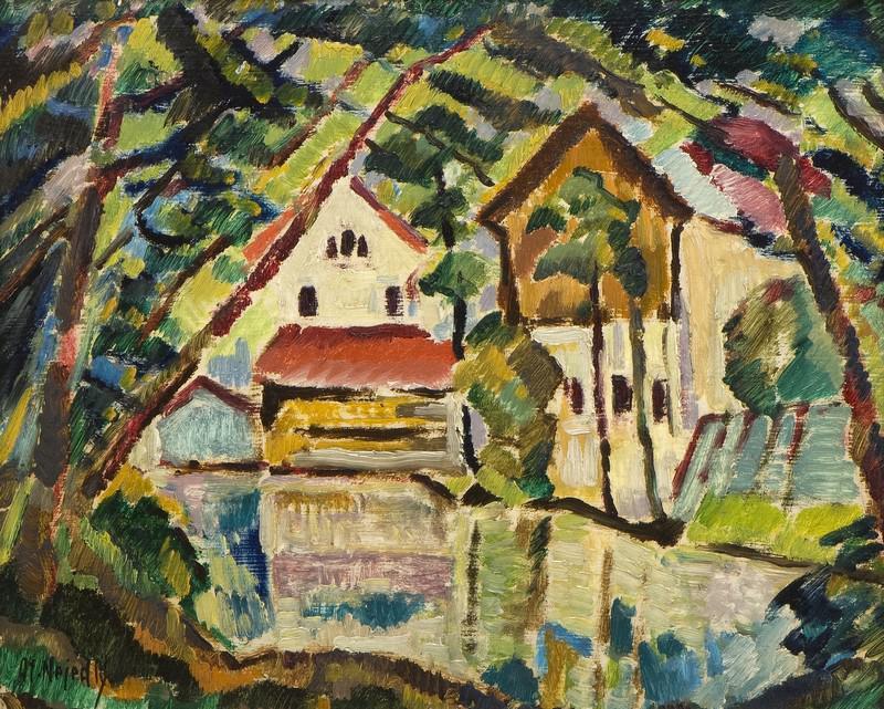 Otakar Nejedlý / Tábor - Mlýn (1914)