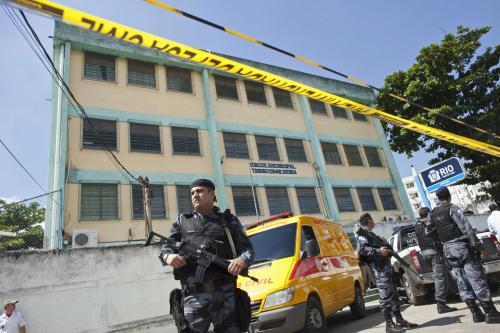 V brazilské škole se střílelo