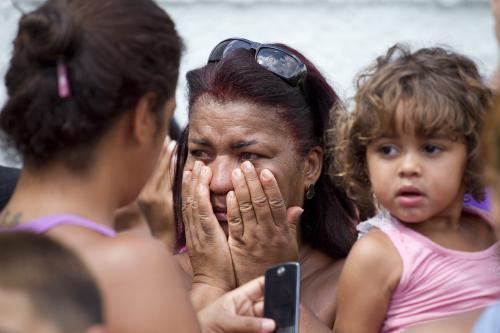 Strach před brazilskou školou, kde se střílelo