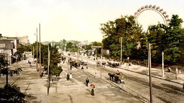 Pohlednice Prátru z roku 1895