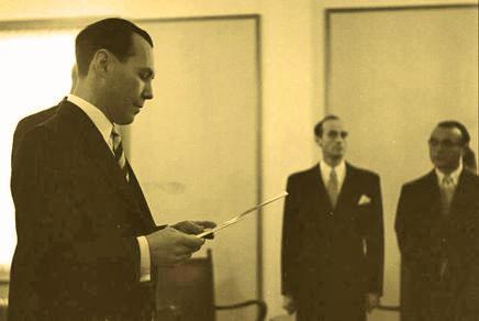 Eduard Goldstücker v roce 1950 v Izraeli