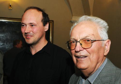 Martin Ryšavý (vlevo) a Václav Veber